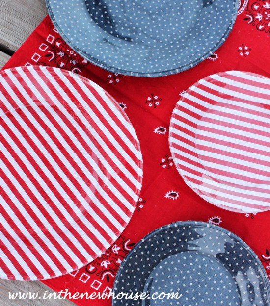 DIY 4th of July Dishes