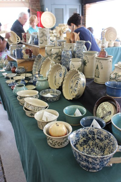 Charleston SC Market Pottery