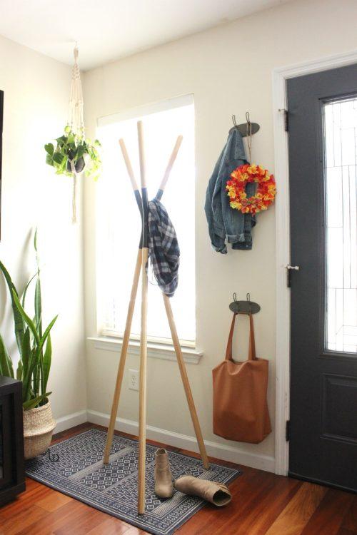 DIY Tissue Paper Wreath Fall Home Decor