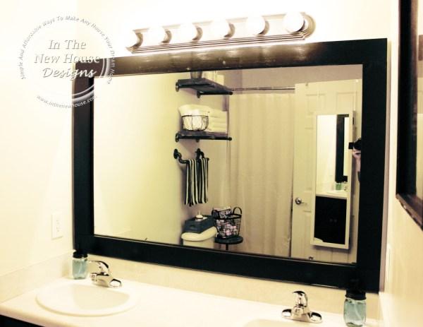 Industrial Farmhouse Framed Mirror