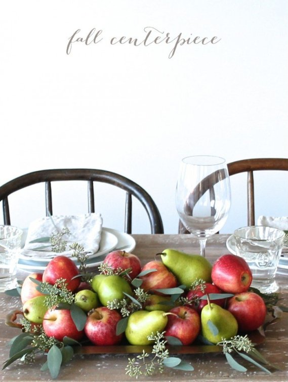 Fruit for Centerpiece