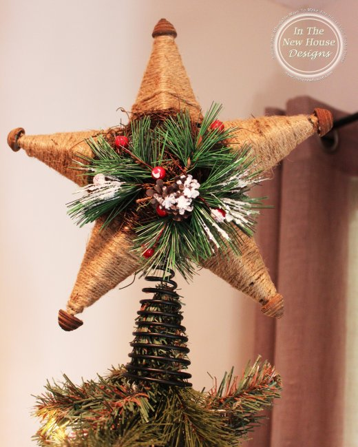 Christmas Tree Rustic Star