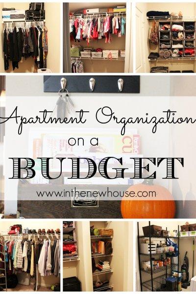 Apartment Organization On A Budget