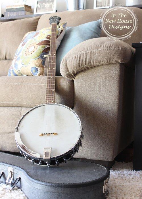 Gorgeous Old Banjo