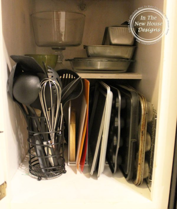 Baking Dish and Pan Organization