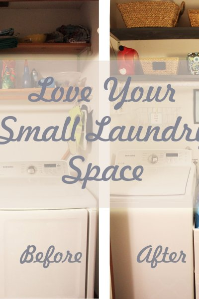 Love Your Small Laundry Space