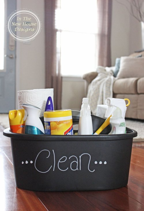 How To Stock A Cleaning Caddy With The Right Products
