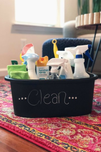 How To Create A Perfectly Stocked Cleaning Caddy