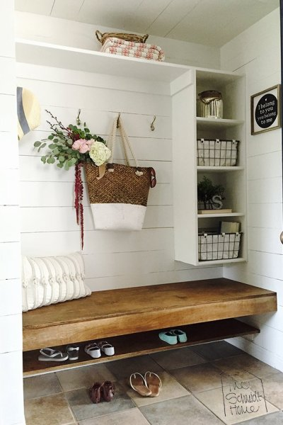 Mudroom Makeover at The Schmidt Home
