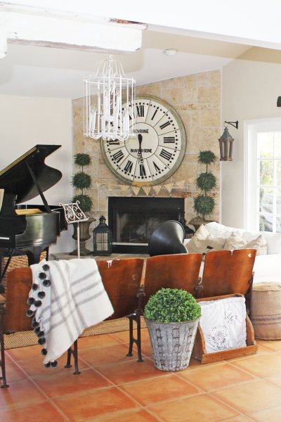 Coastal Farmhouse Meets French Country | A Home Tour