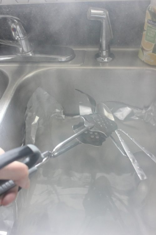 restore old silverware