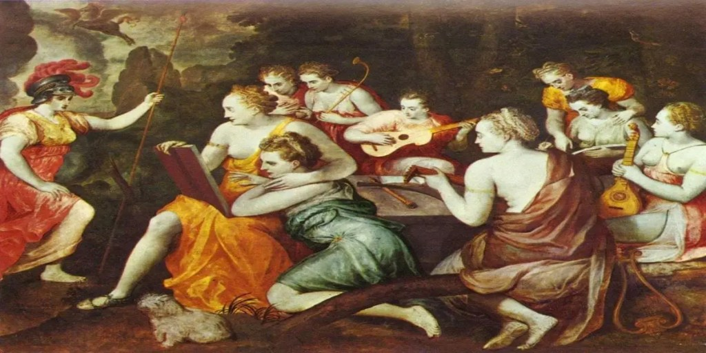 Idle Amusement, or Erato Thinks Too Much
