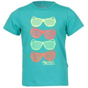 boys bright sunglasses tshirt