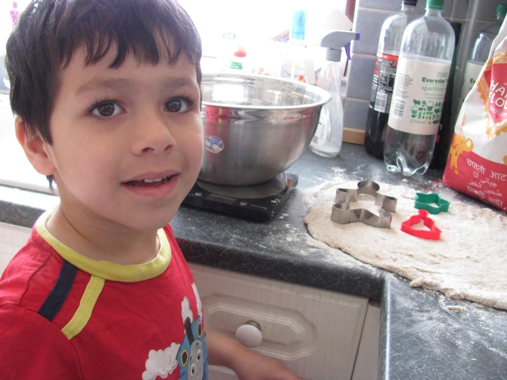 children roti making activity