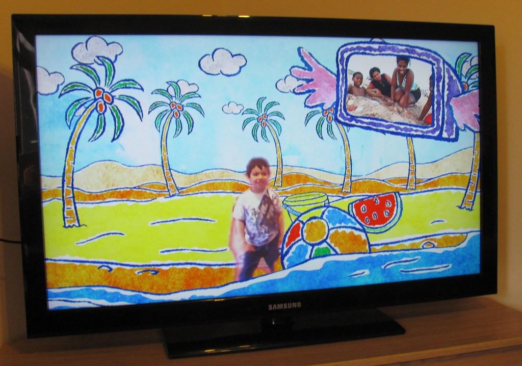 Screen shot of Kinect Sesame Street two way tv season 1