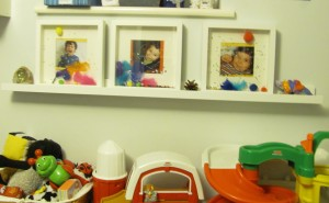 childrens playroom 3d photo frames