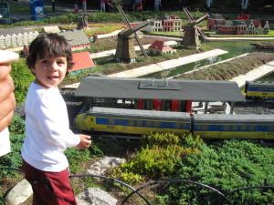 miniland lego trains