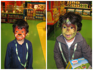 kids facepaint