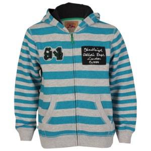 hadleigh boys striped hoody