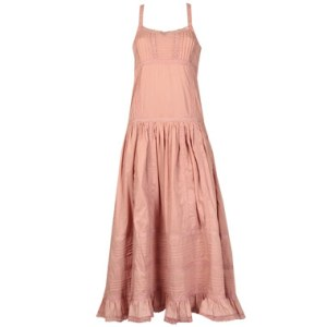 dusky pink maxi dress