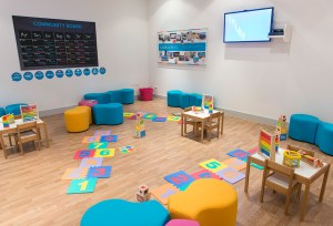 hayes kiddicare events room