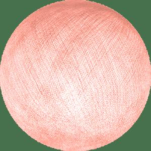 pale pink cable cotton