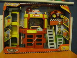 tonka fire station play set