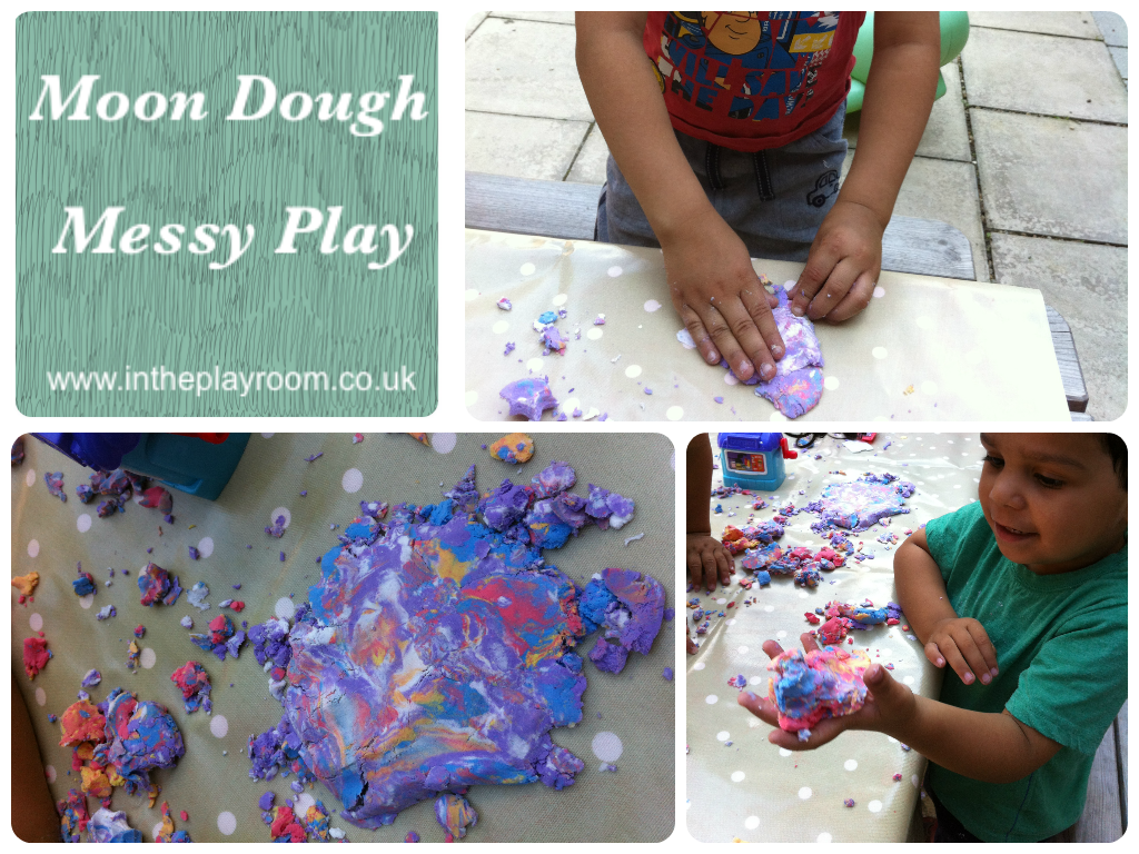 messy play ideas for in the garden