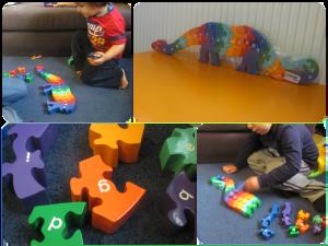 Lanka kade dinosaur puzzle