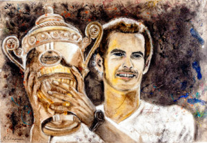 more than carpet art andy murray wimbledon
