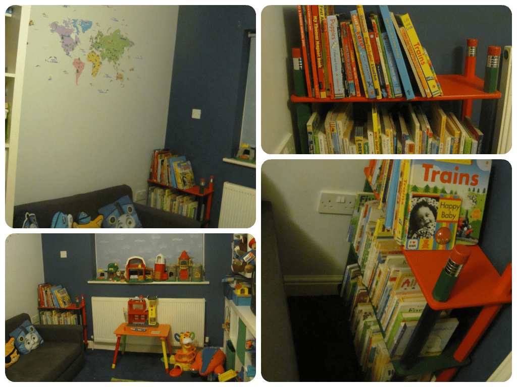 playroom furniture - reading corner