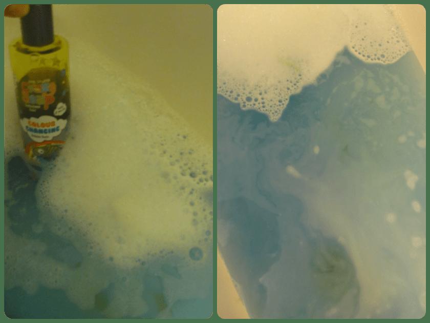 crazy soap colour changing bubble bath