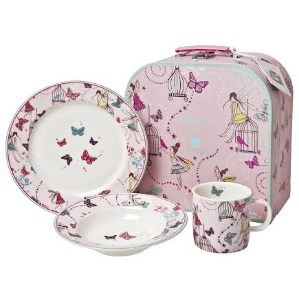 girls Monsoon Children Home denby set  sc 1 st  In The Playroom & Day 6 - Monsoon Girls Tableware Gift Set - In The Playroom