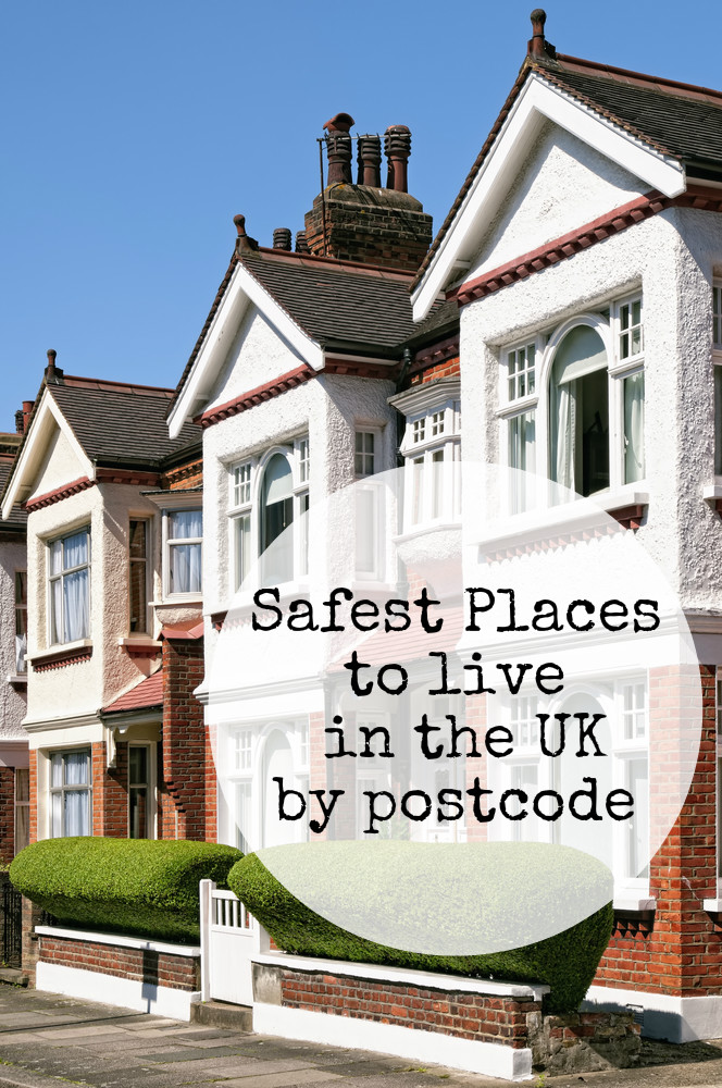 The best and safest places for families to live in the UK organised by postcode
