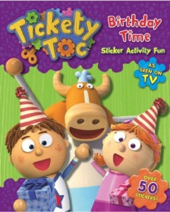 tickety toc birthday time