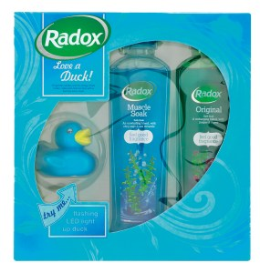 Radox spa sets love a duck