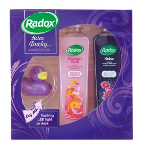 radox spa set relax ducky