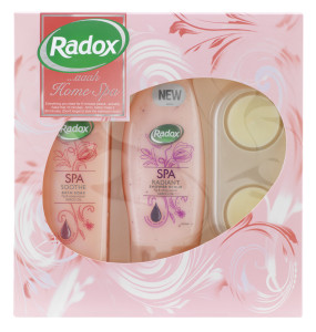 Radox spa sets home spa
