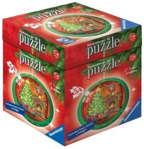 ravensburger christmas 3d puzzle ball