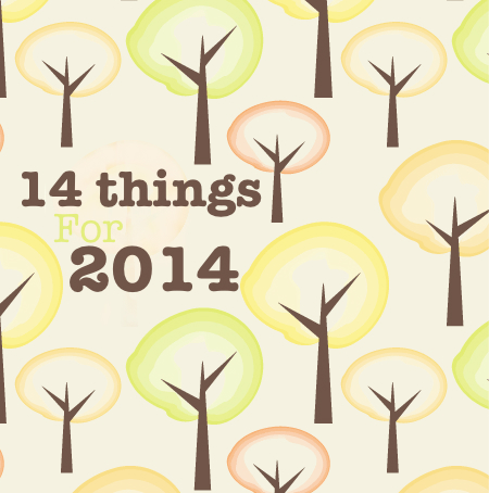 14 things for 2014