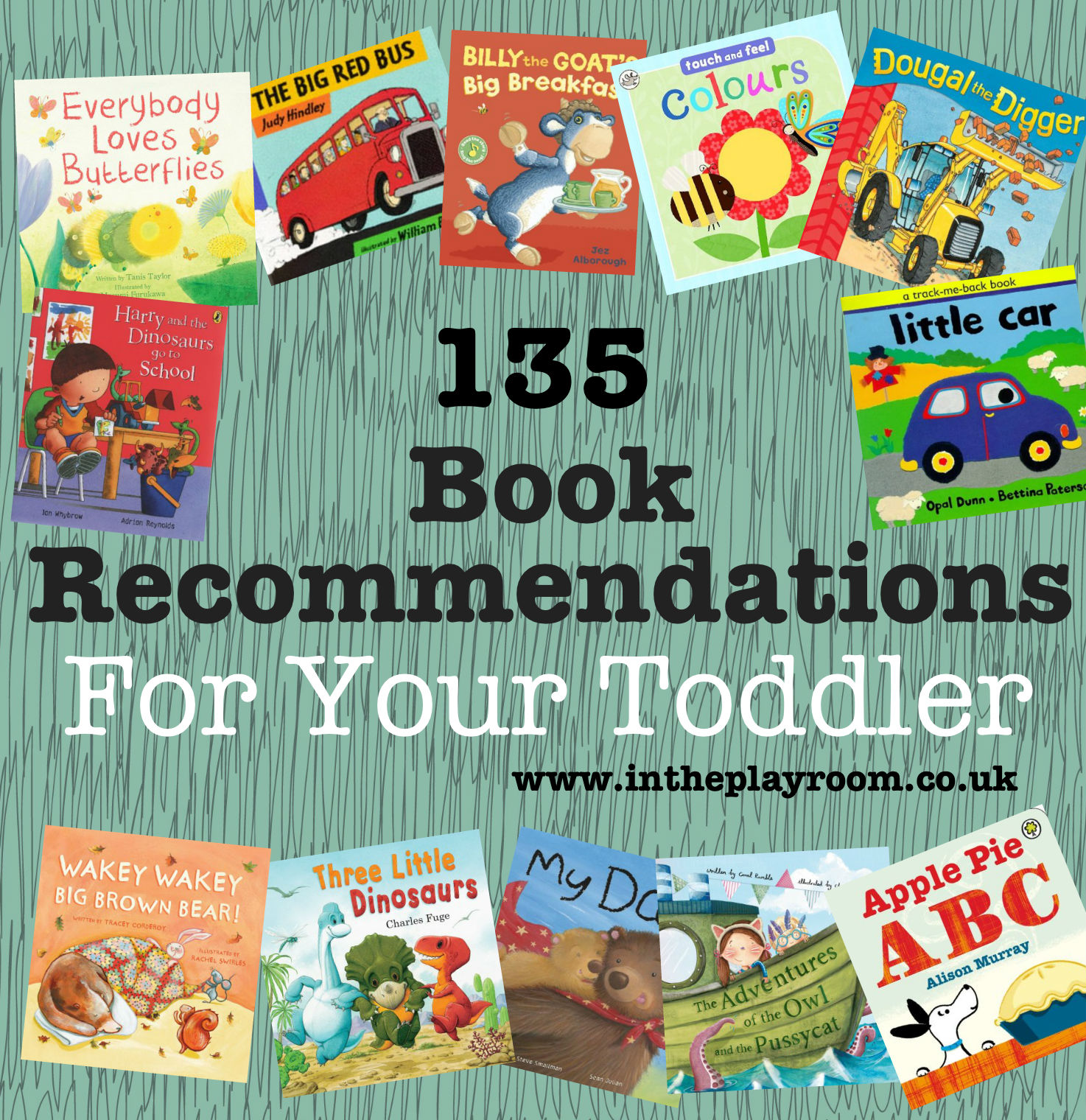 book recommendations for toddlers