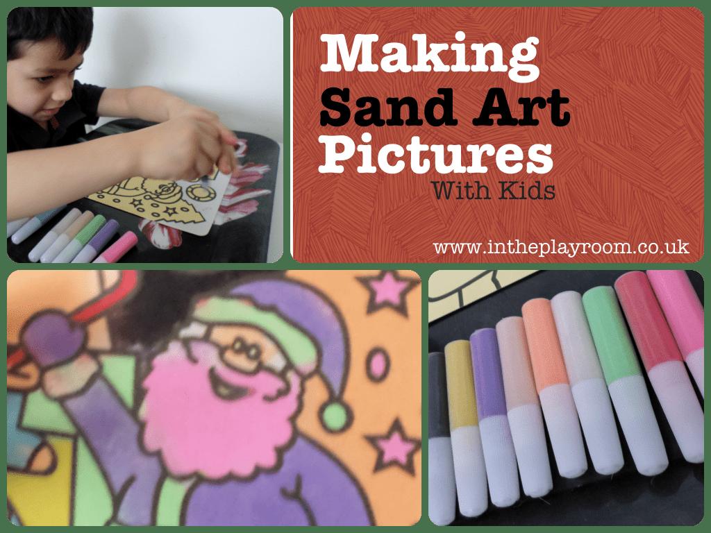 making sand art