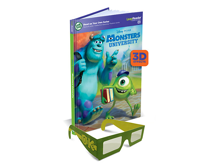 monsters university leapfrog leapreader book