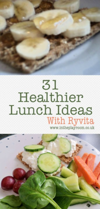 31 healthy lunch ideas using different types of ryvita
