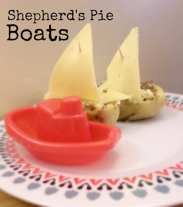 Shepherd's Pie Boats - inspired by the Weekend Box club