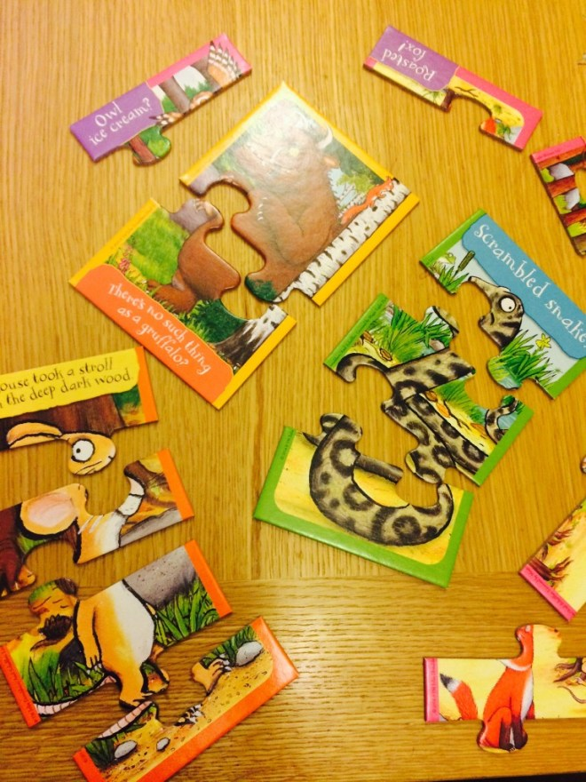 gruffalo puzzle pieces
