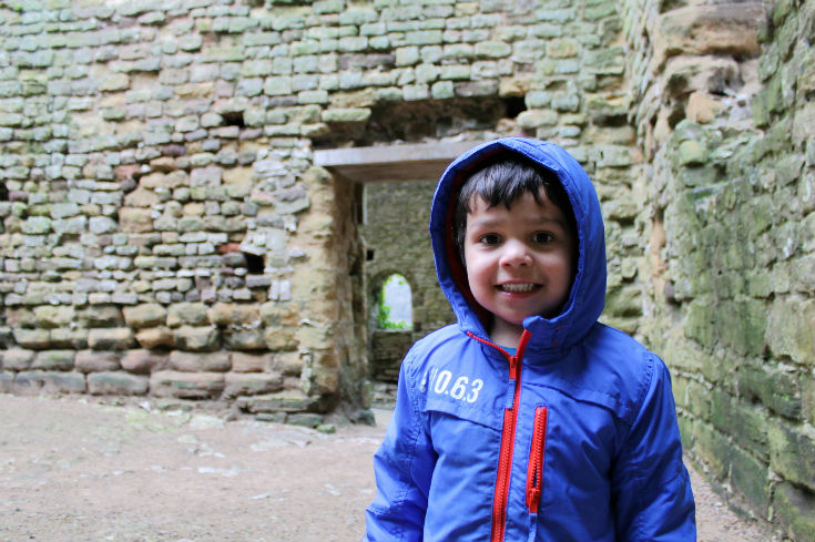 Mr T at Chepstow Castle