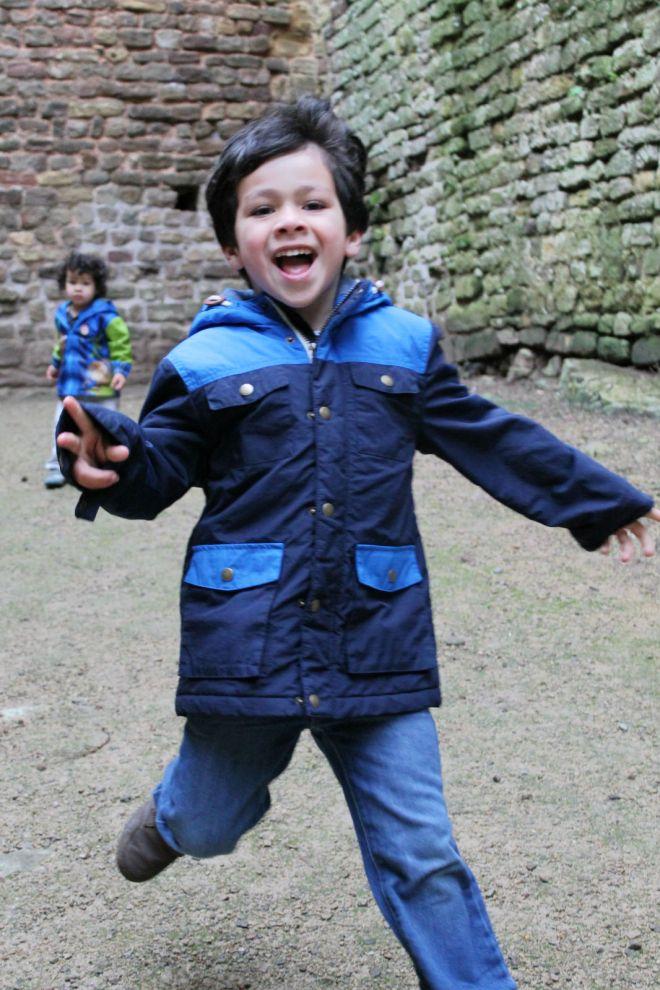running in chepstow castle