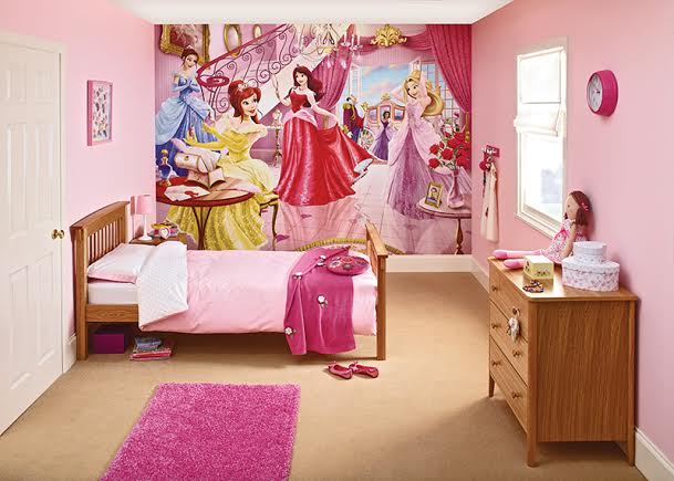 girls fairy princess bedroom