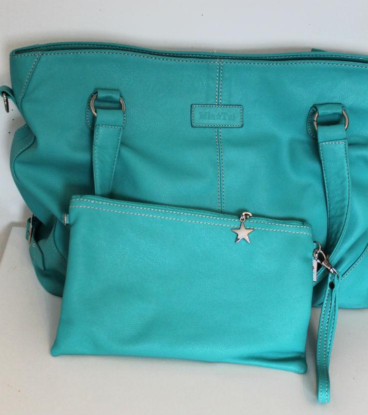 mia tui bag with clutch